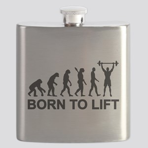 Evolution born to lift weightlifting Flask