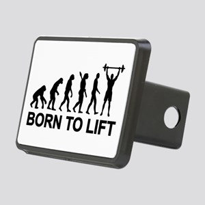 Evolution born to lift wei Rectangular Hitch Cover