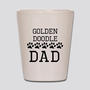 Goldendoodle Dad Shot Glass
