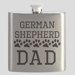 German Shepherd Dad Flask