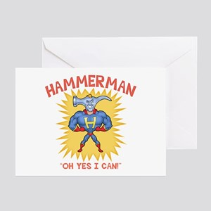 Hammerman! Greeting Cards (Pk of 10)