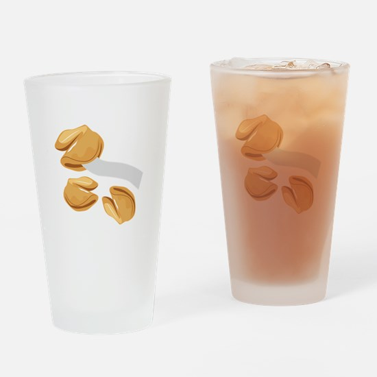 Fortune Cookies Drinking Glass