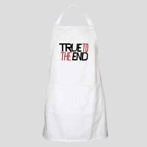True To The End Apron