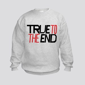 True To The End Sweatshirt