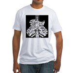 Acoustic Skeletar Fitted T-Shirt