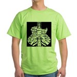 Acoustic Skeletar Green T-Shirt