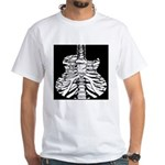 Acoustic Skeletar White T-Shirt