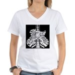 Acoustic Skeletar Women's V-Neck T-Shirt