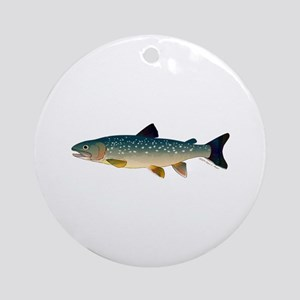 Dolly Varden Bull Trout Char Ornament (Round)