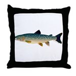 Dolly Varden Bull Trout Char Throw Pillow