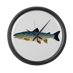 Dolly Varden Bull Trout Char Large Wall Clock