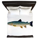 Dolly Varden Bull Trout Char King Duvet