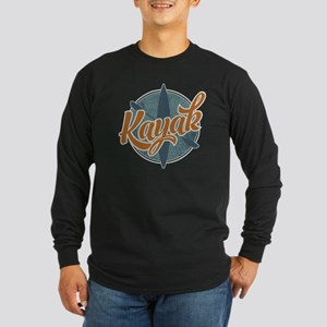 Kayak Emblem Long Sleeve Dark T-Shirt
