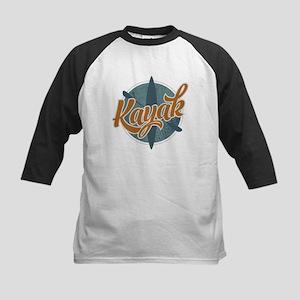 Kayak Emblem Kids Baseball Jersey
