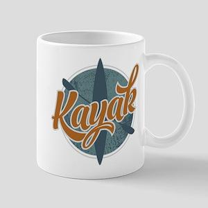 Kayak Emblem Mug