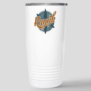 Kayak Emblem Stainless Steel Travel Mug