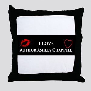 Ashley Chappell Throw Pillow