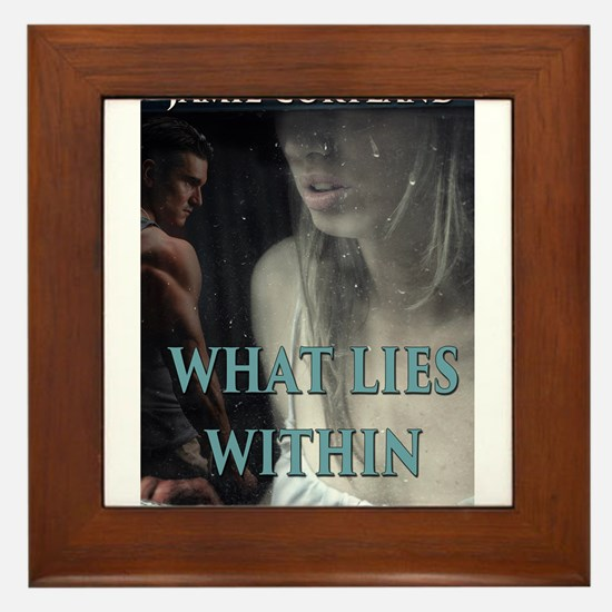 What Lies Within Framed Tile