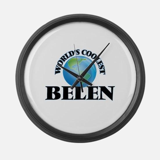 World's Coolest Belen Large Wall Clock