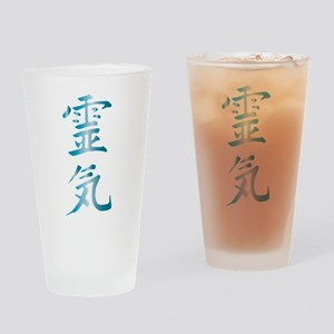Reiki Drinking Glass