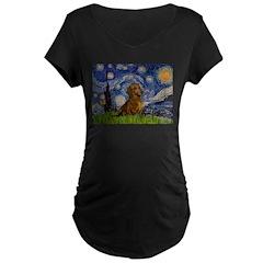 Starry / Dachshund T-Shirt
