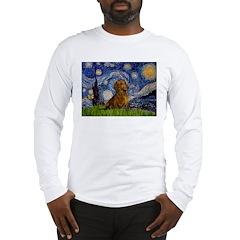 Starry / Dachshund Long Sleeve T-Shirt