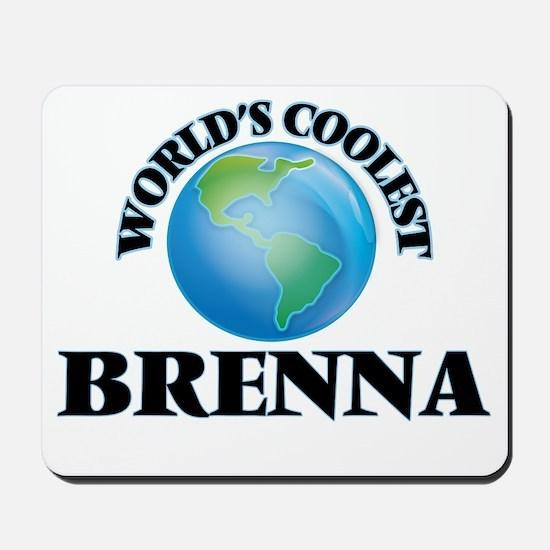 World's Coolest Brenna Mousepad