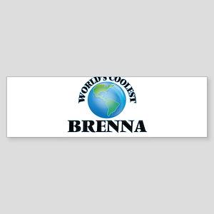 World's Coolest Brenna Bumper Sticker