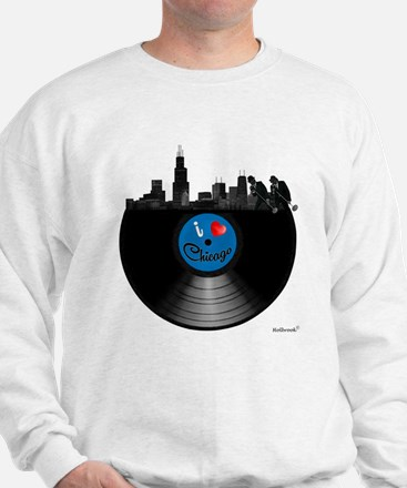 I Love Chicago Sweatshirt