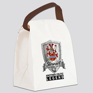 Stewart Coat of Arms Canvas Lunch Bag