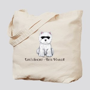 Life's Westie Too Tote Bag