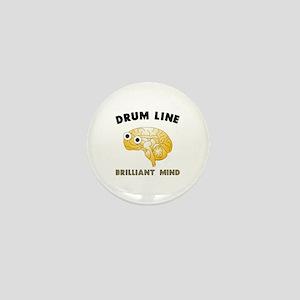 Drum Line Mini Button