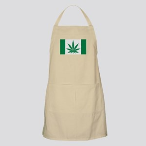 Marijuana flag Apron