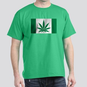 Marijuana flag Dark T-Shirt