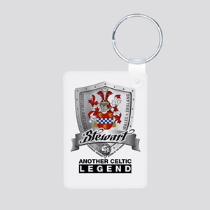 Stewart Coat of Arms Keychains