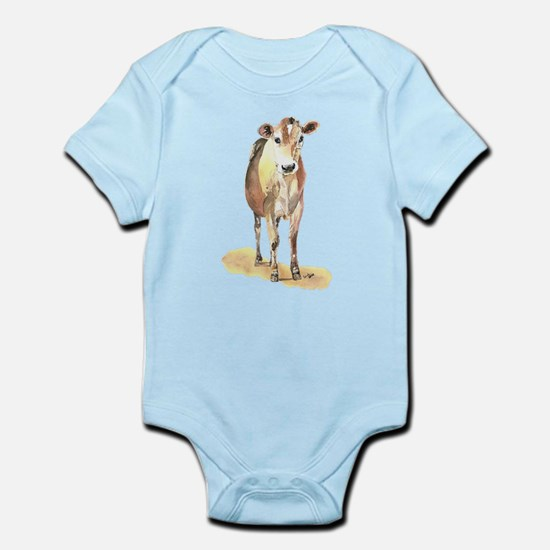 Cow brown Body Suit