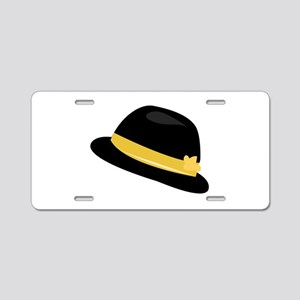 Bowler Hat Aluminum License Plate