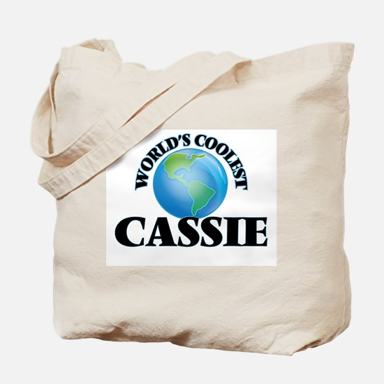 World's Coolest Cassie Tote Bag