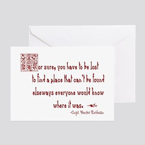Lost Pirate Greeting Cards (Pk of 10)