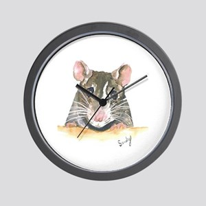 Rat face Wall Clock