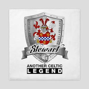Stewart Coat of Arms Queen Duvet