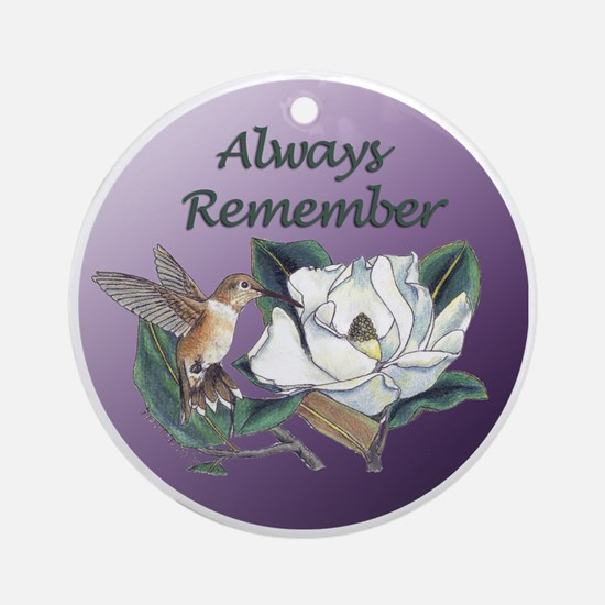 Always Remember - hummer with magnolia