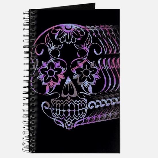 Ghastly Sugar Skull Journal