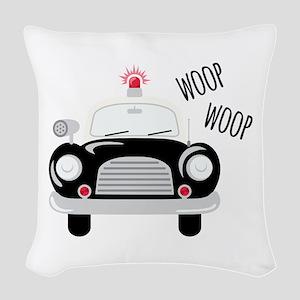 Siren Woop Woven Throw Pillow
