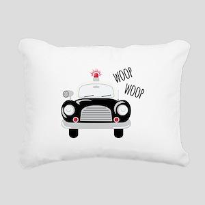 Siren Woop Rectangular Canvas Pillow