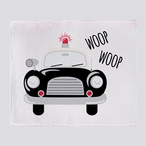 Siren Woop Throw Blanket