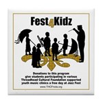 Fest4Kidz Tile Coaster