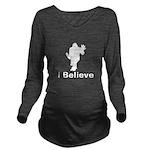 I Believe Long Sleeve Maternity T-Shirt