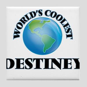 World's Coolest Destiney Tile Coaster