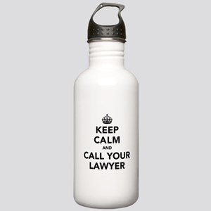 Keep Calm And Call You Stainless Water Bottle 1.0L
